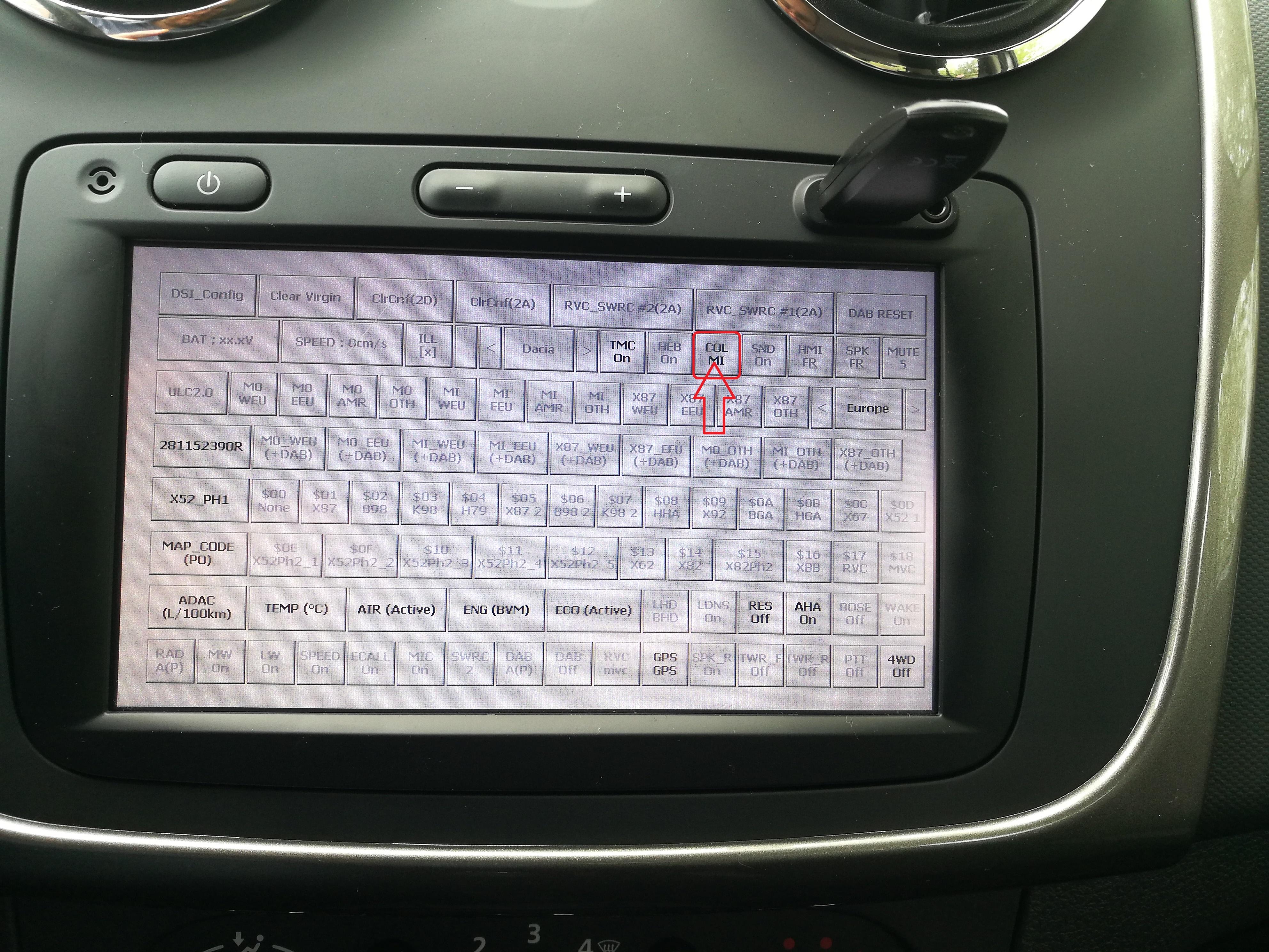 Madia Nav: Umstellen auf Renault-Farbschema – RenaultBlog