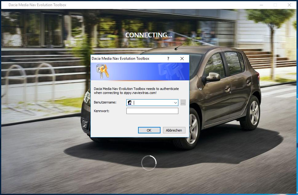 Renault Media Nav Toolbox – transport